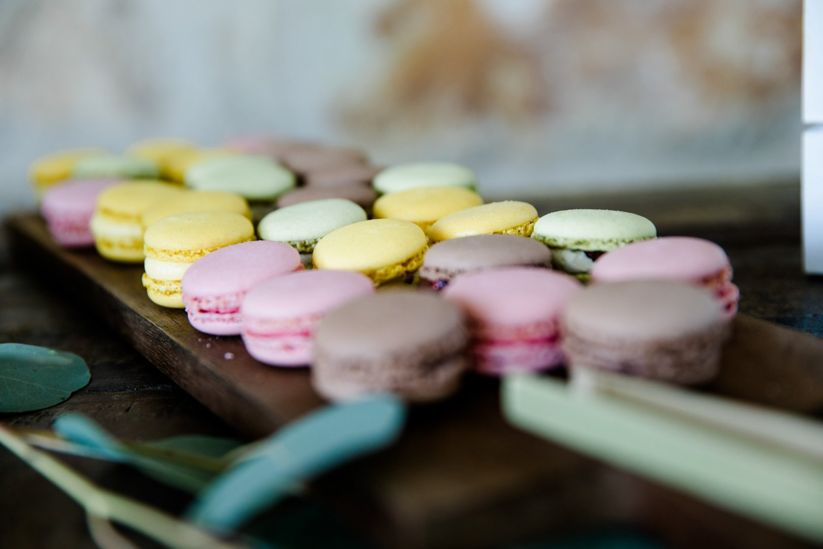 Macaroon Sweetness Food Pink Yellow Baking Cuisine Dessert Confectionery Food coloring