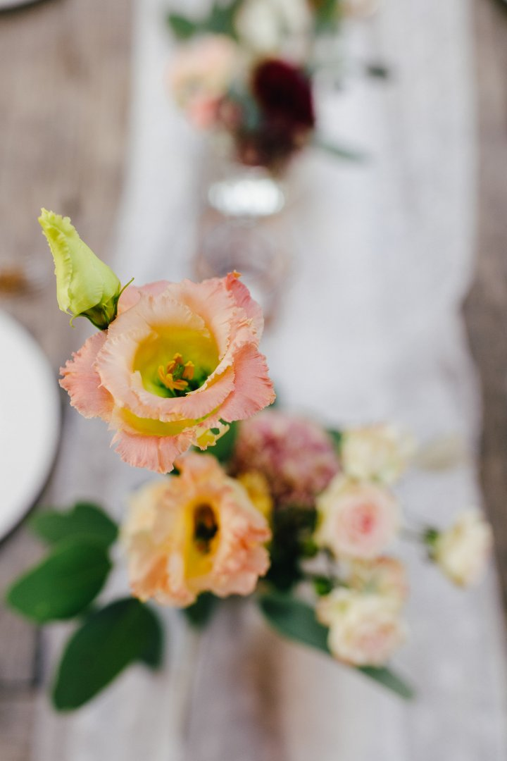 Flower Photograph Pink Yellow Bouquet Floral design Flower Arranging Floristry Cut flowers Plant Petal Spring Peach Peony Artificial flower Wildflower Ceremony Rose Rose family Wedding Garden roses Flowering plant Anemone