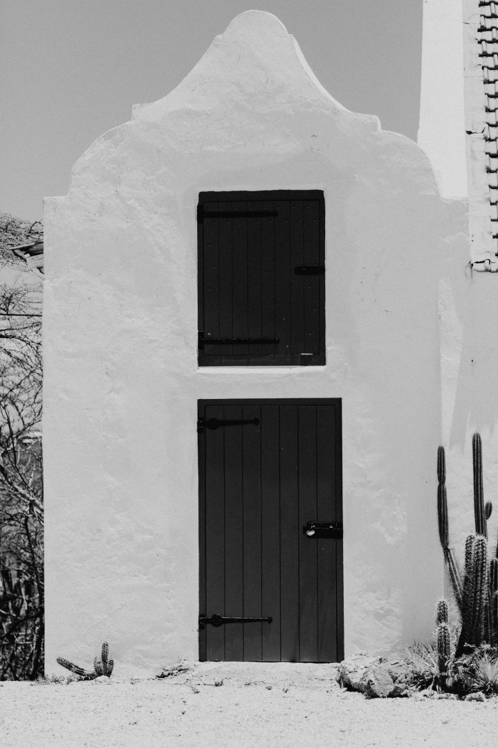 White Black Black-and-white Door House Monochrome photography Monochrome Snow Building Tree Architecture Winter Window Facade Photography Landscape Home Rock Tints and shades Style