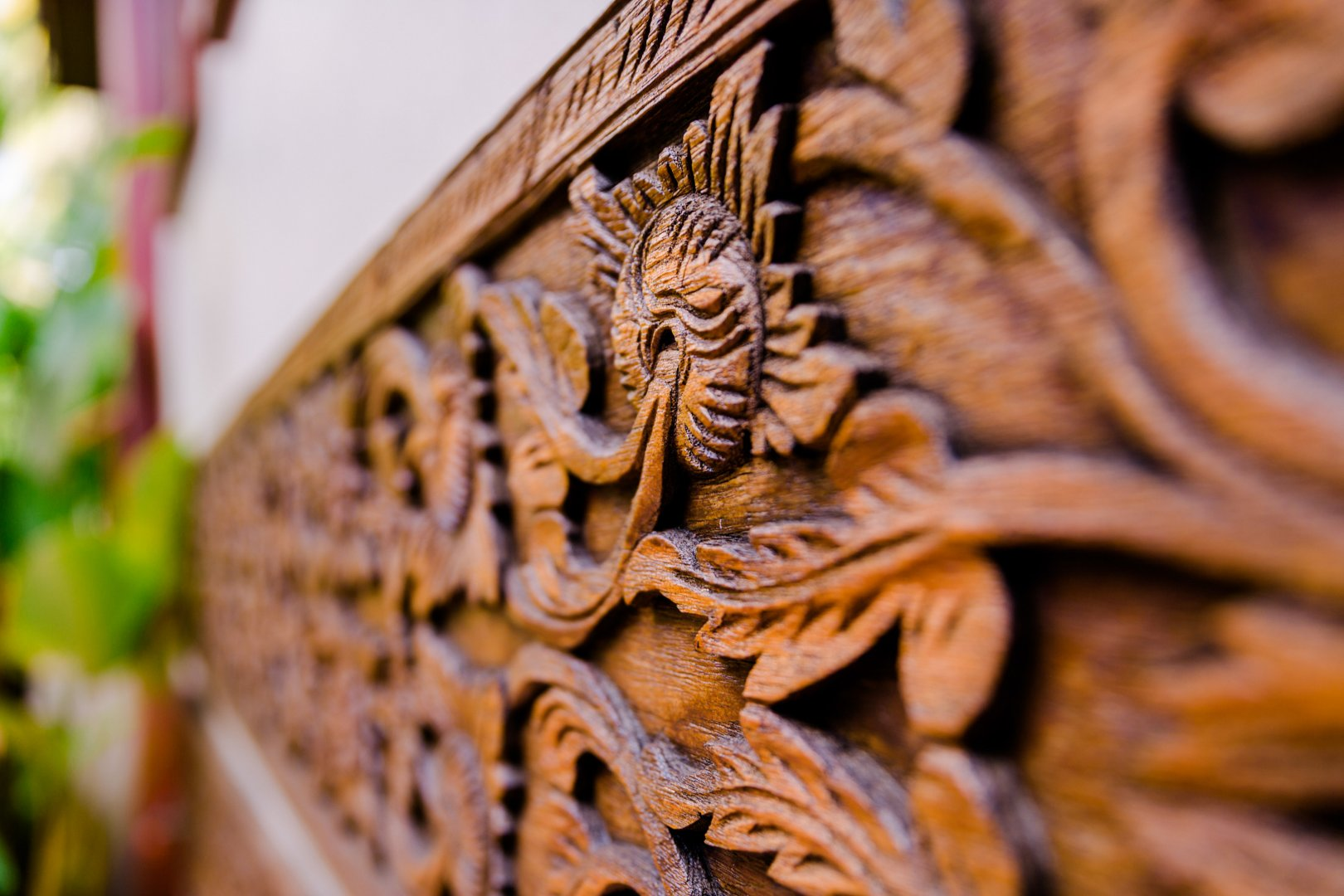 Carving Stone carving Wood Close-up Art Relief Sculpture Plant Metal