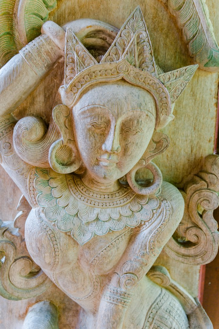 Stone carving Sculpture Carving Statue Art Relief Architecture Temple Visual arts Mythology Ancient history Fawn Fictional character Gargoyle