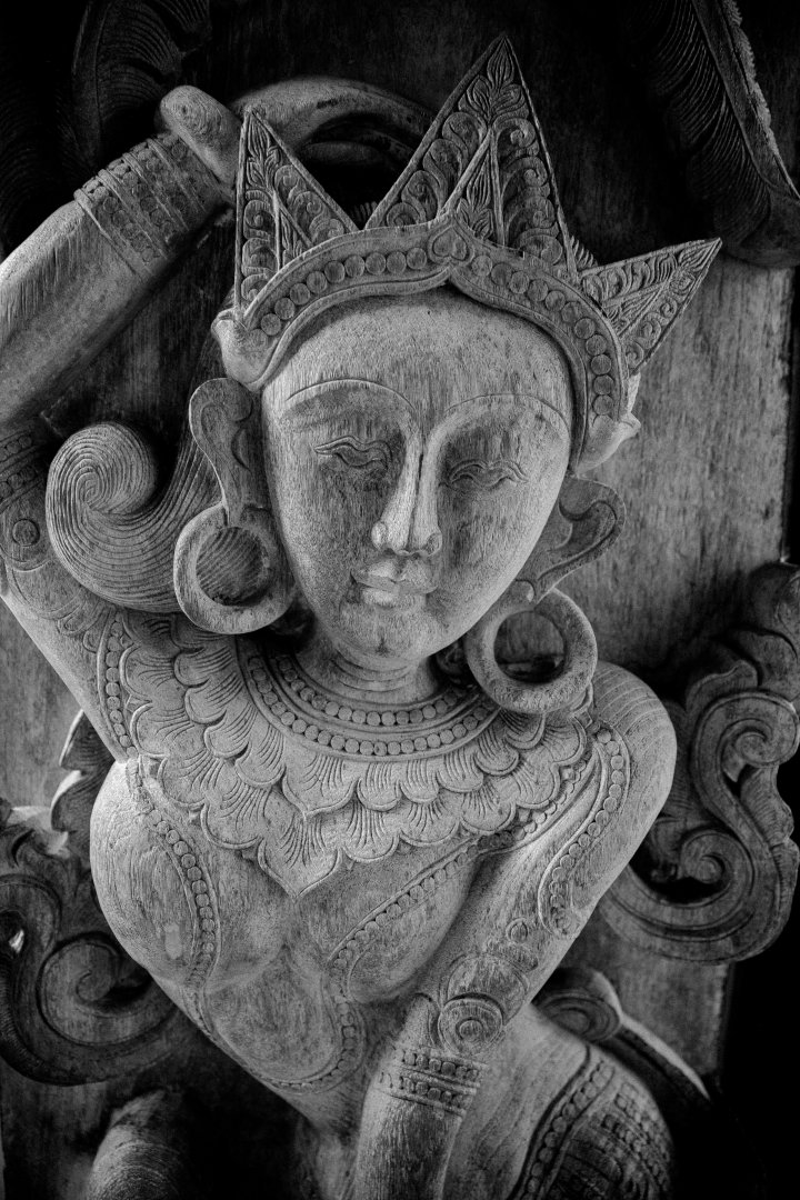 Stone carving Sculpture Carving Black-and-white Monochrome Monochrome photography Still life photography Art Stock photography Temple Architecture Statue Relief Photography Style Still life Gargoyle Visual arts