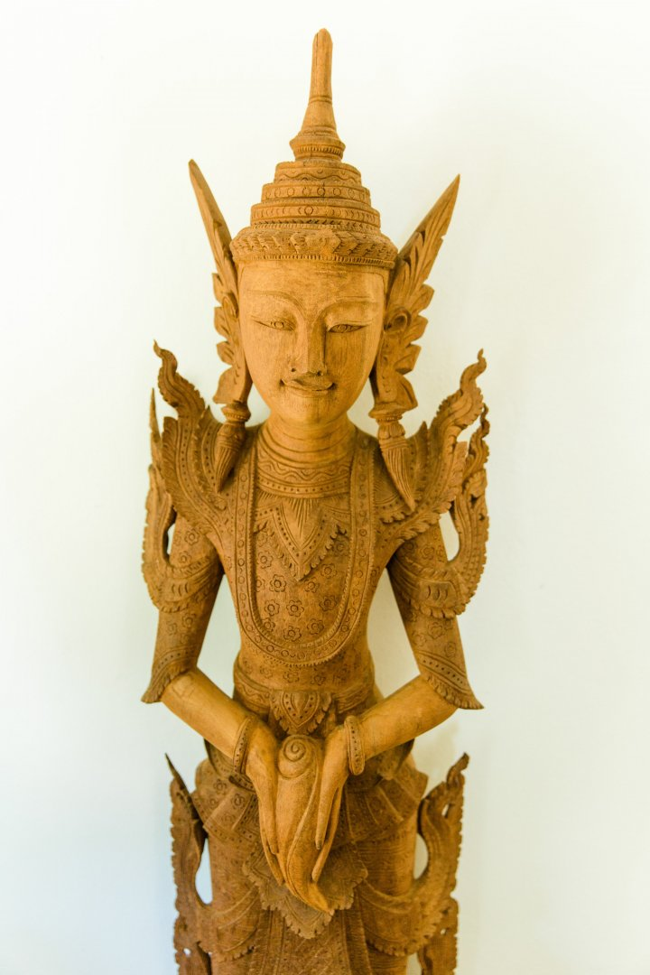 Sculpture Statue Carving Stone carving Figurine Art Brass Wood Temple Metal Fictional character Artifact Mythology