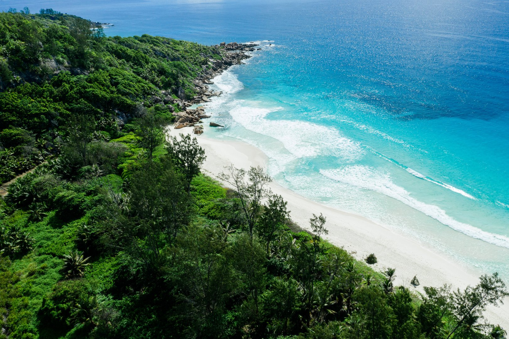 Body of water Coast Nature Vegetation Sea Shore Promontory Coastal and oceanic landforms Tropics Ocean Beach Natural landscape Sky Nature reserve Bay Headland Water resources Water Tree Cape Tourism Vacation Bight Wave Landscape Wind wave Caribbean Inlet Cove Plant