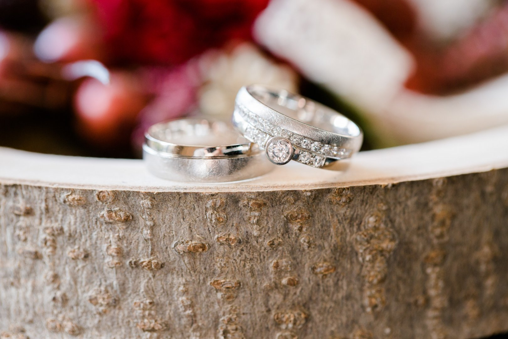 Ring Jewellery Wedding ring Fashion accessory Wedding ceremony supply Pink Engagement ring Finger Metal Silver Engagement Diamond Gemstone Ceremony Macro photography Marriage