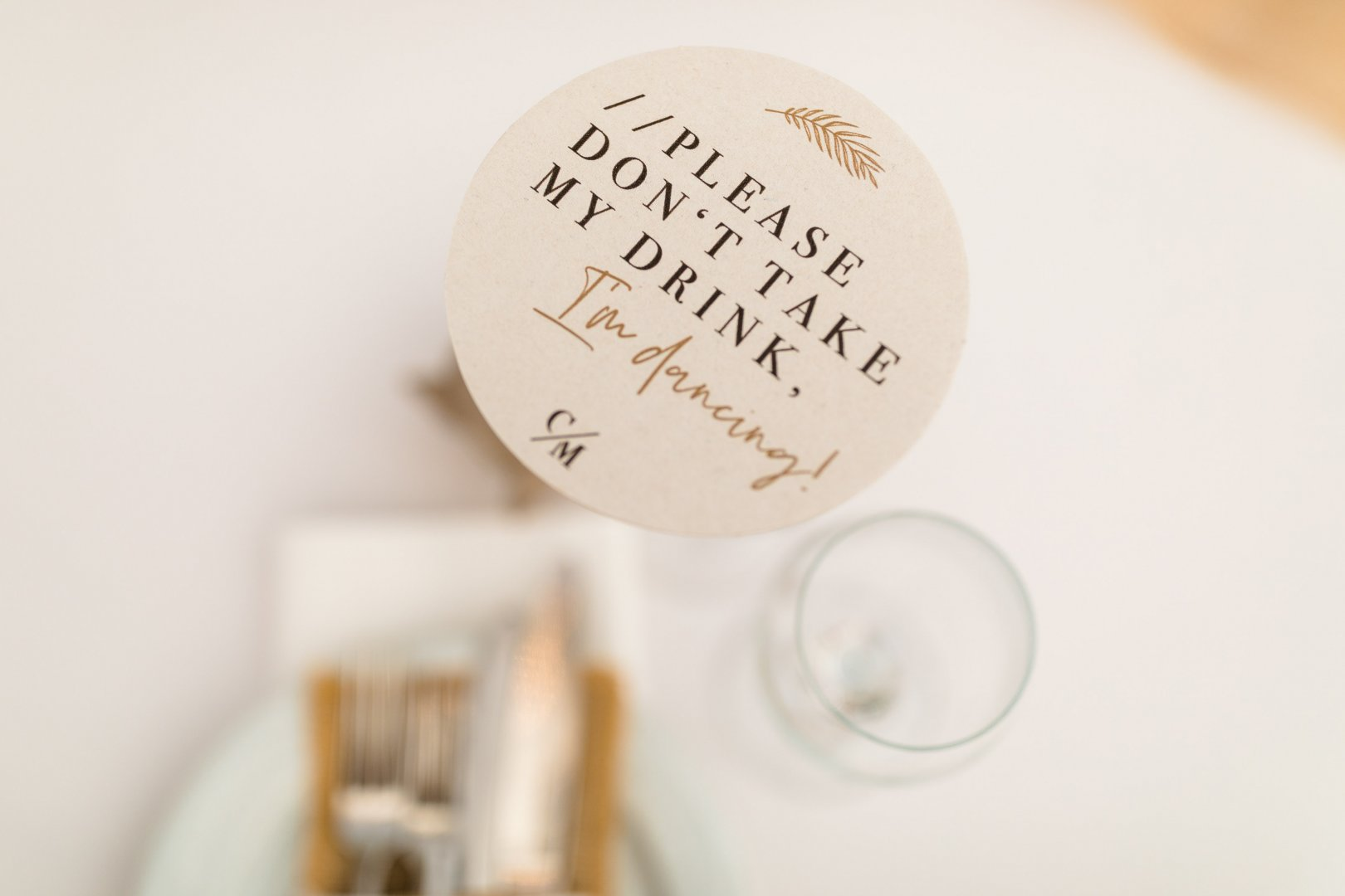 Text Font Circle Calligraphy Tableware
