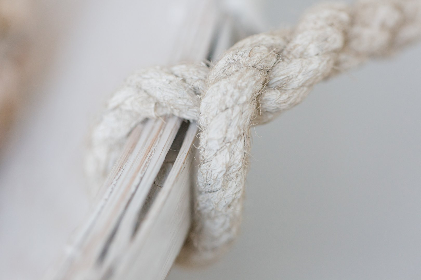 White Rope Wool Linens Textile Knot Thread Twine